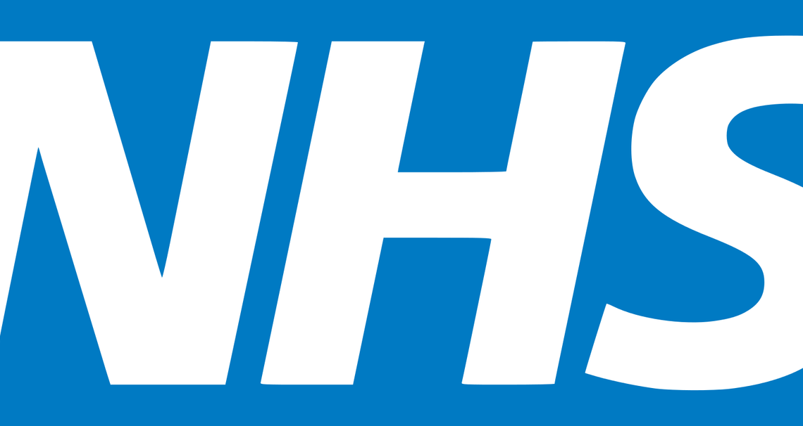 blue and white nhs logo