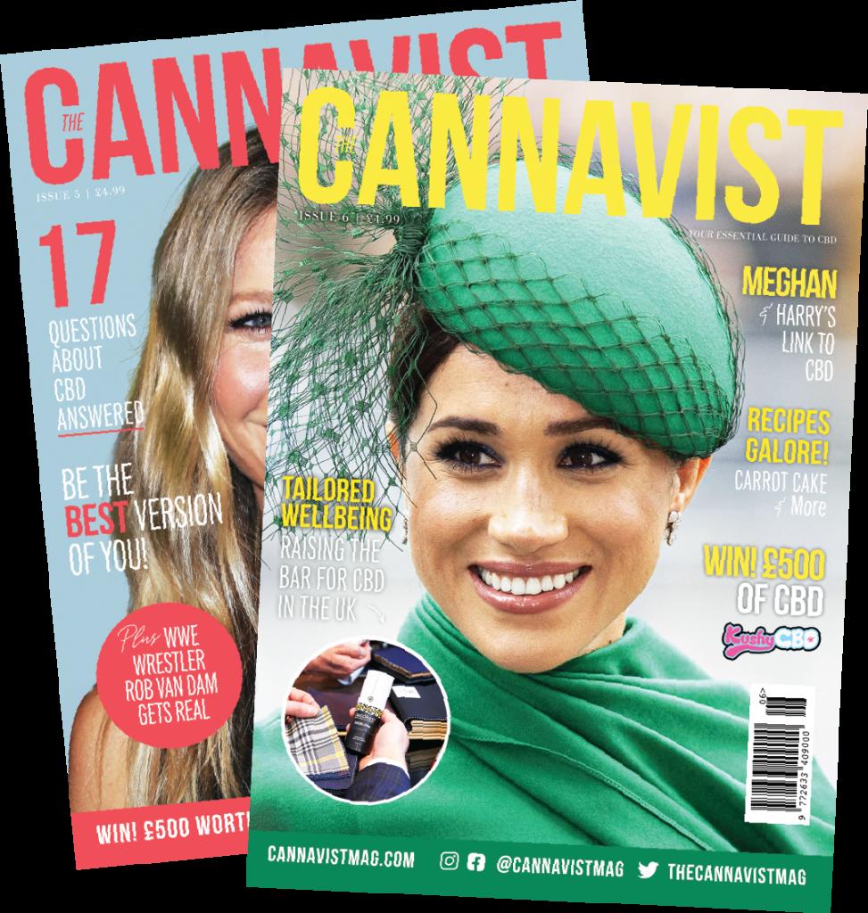 Cannavist magazine covers