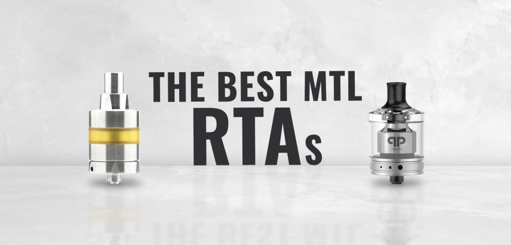 The Best MTL RTAs in silver