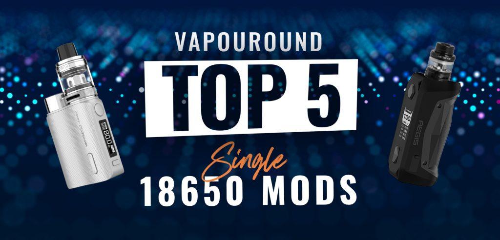 single 18650 mods