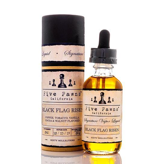 Five Pawns Black Flag Risen e-liquid