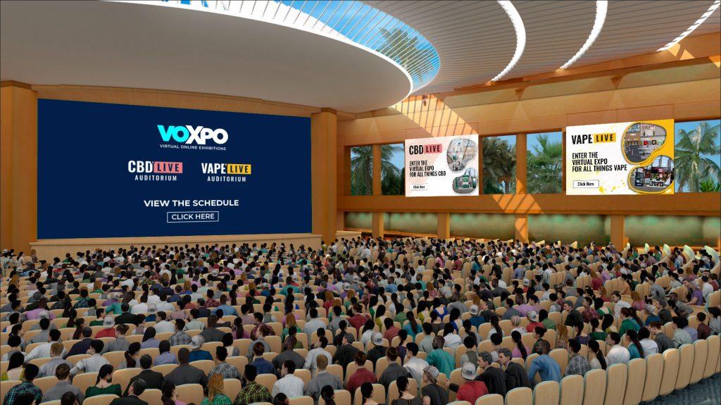 VOXPO vape live cbd auditorium