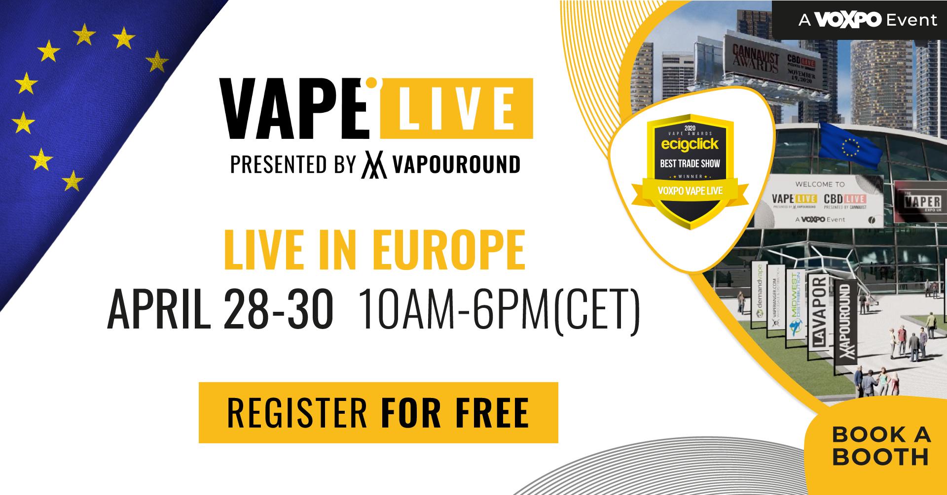 vape live europe - a voxpo event