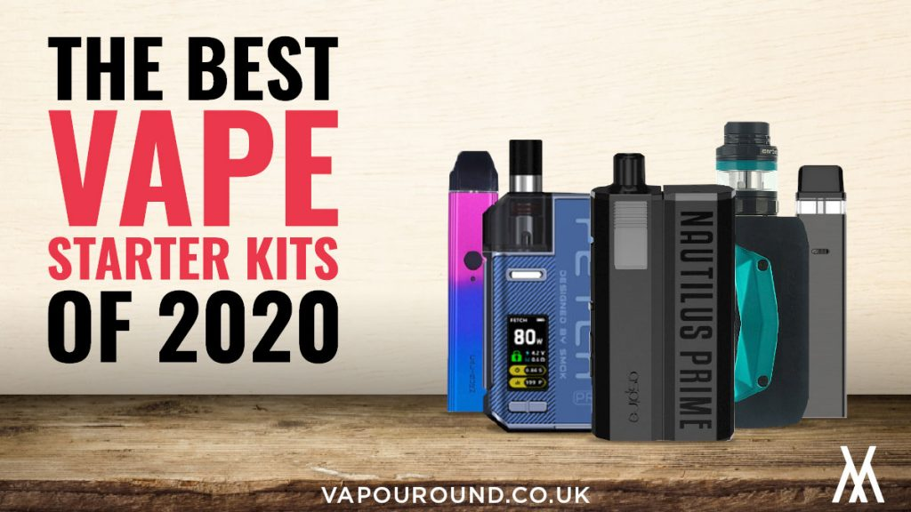 a collection of best vape starter kits in 2020