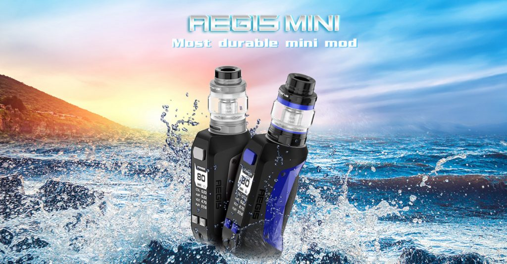 Aegis Mini Vape Mod - most durable mini mod