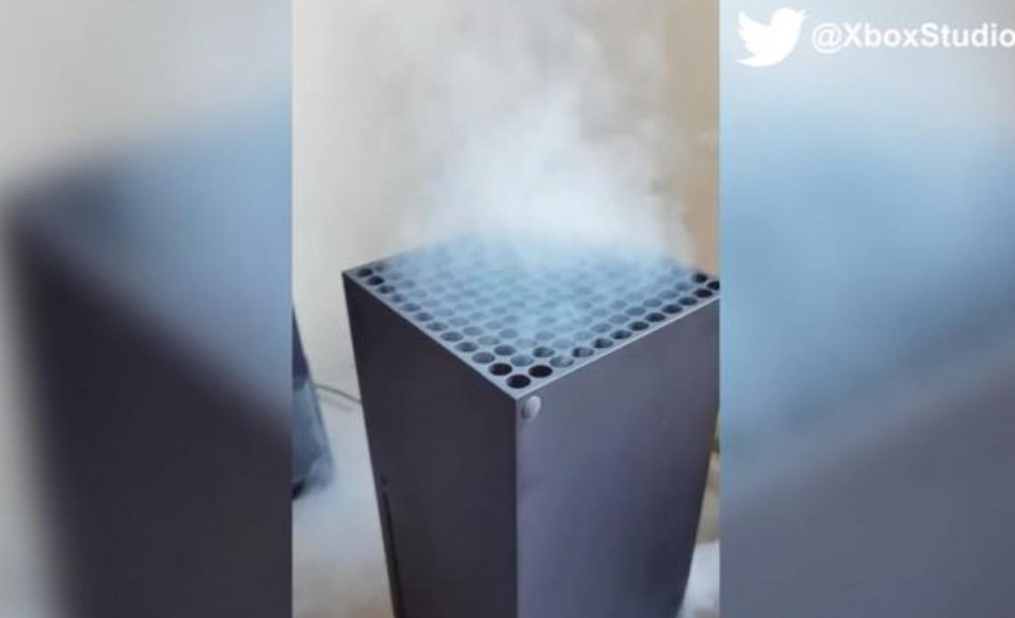 Smoke rising from Xbox